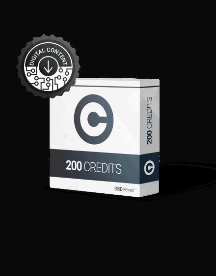 Kód 200 jóváírások az OBDeleven