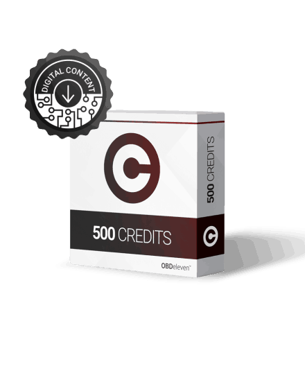 Kód: 500 OBDeleven kredit